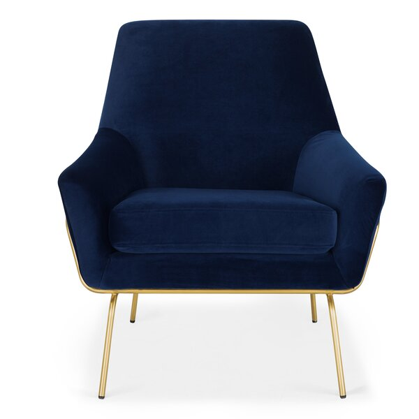 Cheviot Coco Lounge Chair by Everly Quinn Everly Quinn