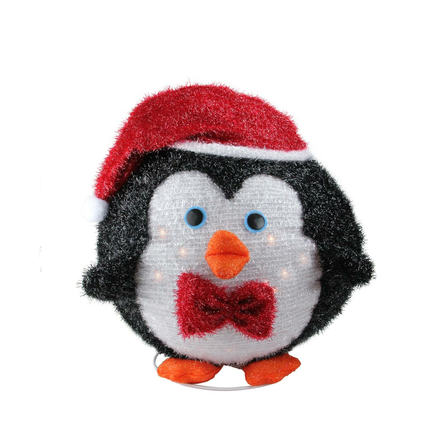 Collapsible Christmas Penguin Outdoor Decoration Lighted Display