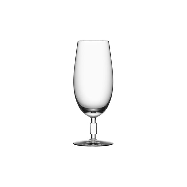 Unique Beer Glass 3 oz. Crystal by Orrefors