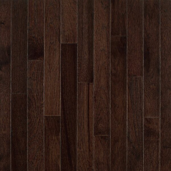 American Treasures 3-1/4 Solid Hickory Hardwood Flooring in Frontier Shadow by Bruce Flooring