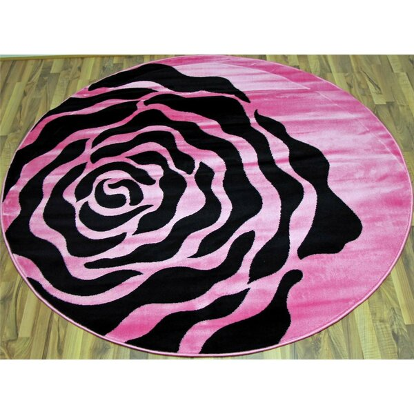 Pink Area Rug by Persian-rugs