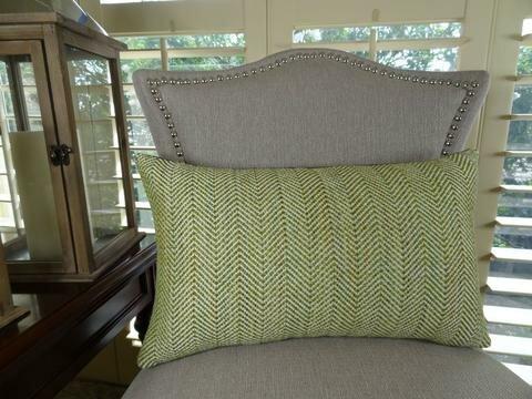 Parsburg Handmade Throw Pillow by Plutus Brands