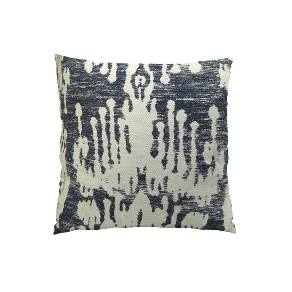 Painted Ikat Throw Pillow by Plutus Brands
