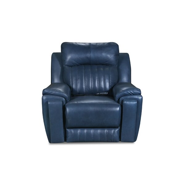 Silver Screen Leather Power Wall Hugger Recliner by Southern Motion Southern Motion