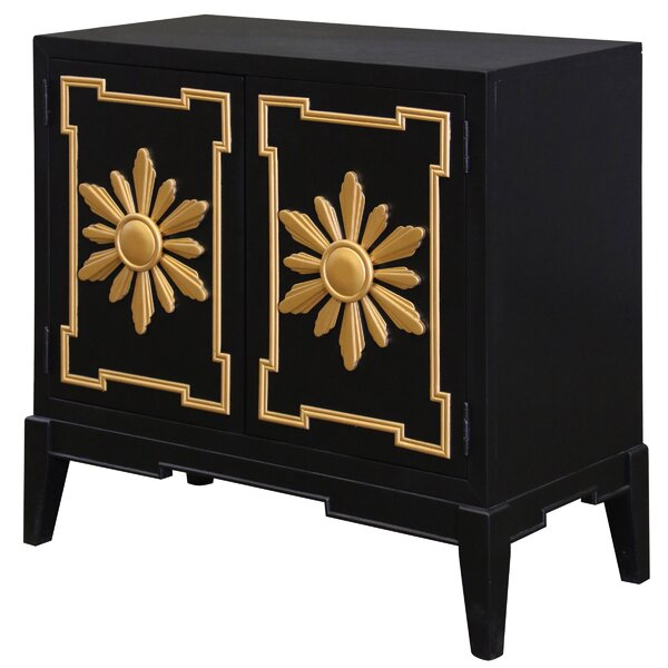 Marla 2 Door Accent Cabinet by Everly Quinn Everly Quinn