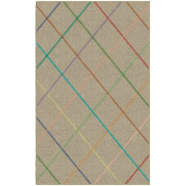 Calvin Beige Area Rug by Winston Porter