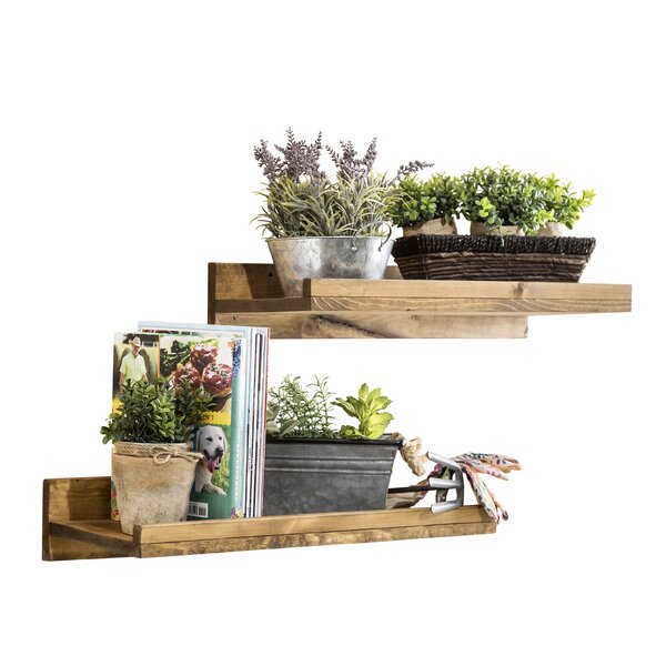 Oconner Wall Shelf (Set of 2) by Union Rustic