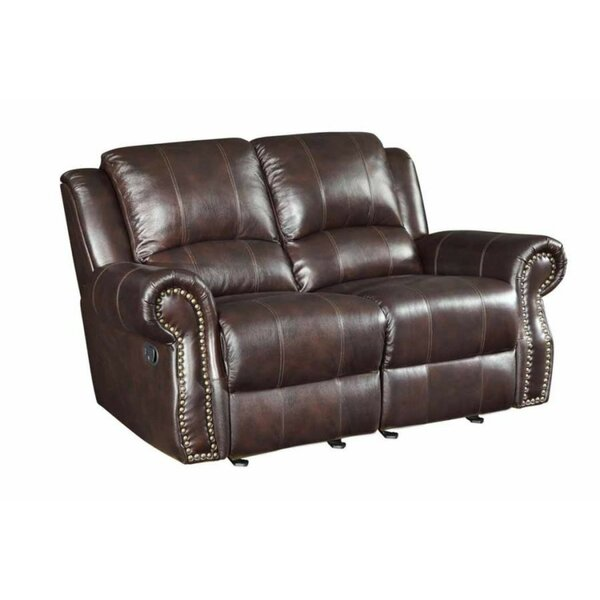 Sanita Reclining Loveseat by Winston Porter