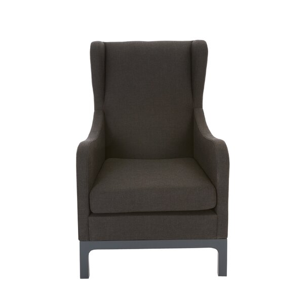 Justen Wingback Chair by Gracie Oaks