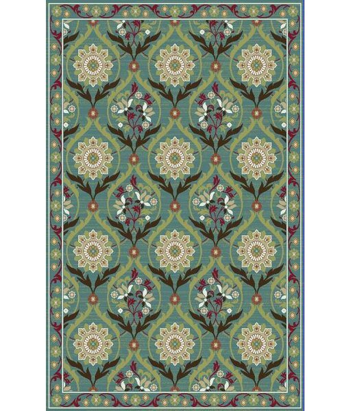Brighton Turquoise Area Rug by Mayberry Rug