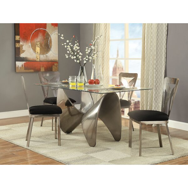 Brilliant 5 Pieces Dining Set by Brayden Studio