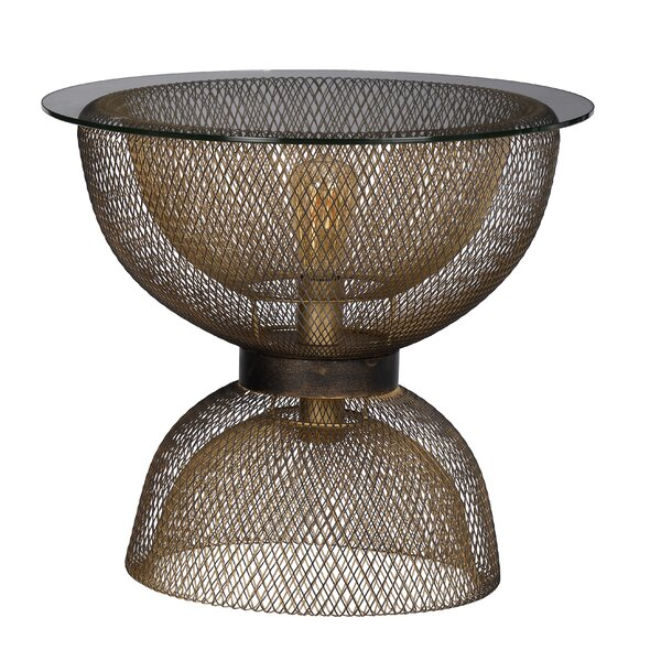 Almonte Modern Chic End Table By Everly Quinn