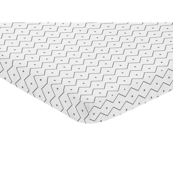 Mod Dinosaur Mini Fitted Crib Sheet by Sweet Jojo Designs
