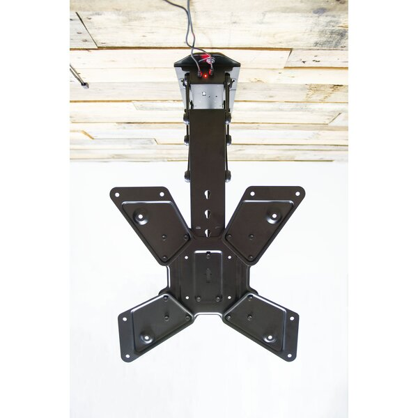 Electric Motorized Flip Down Pitched Roof Tilt Ceiling Mount for 23-55 LCD by Vivo