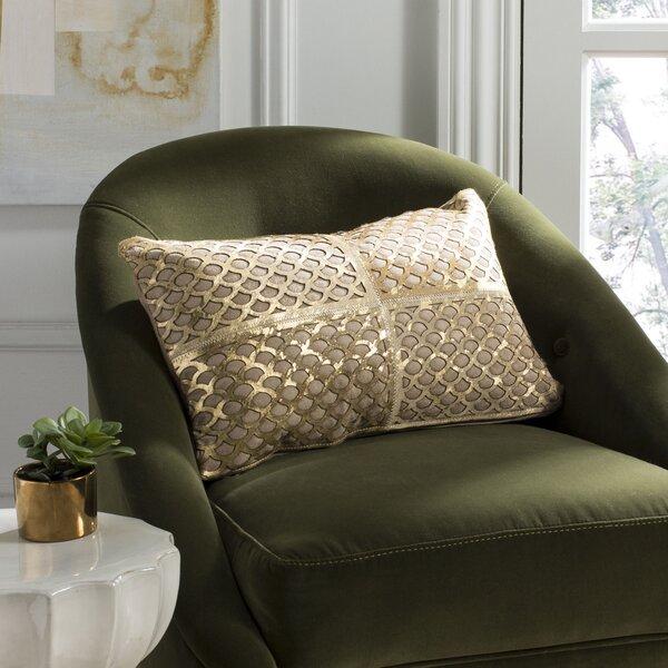 Jeffords Metallic Fin Lumbar Pillow by House of Hampton
