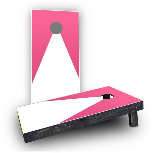 Triangles Cornhole Boards (Set of 2) by Custom Cornhole Boards
