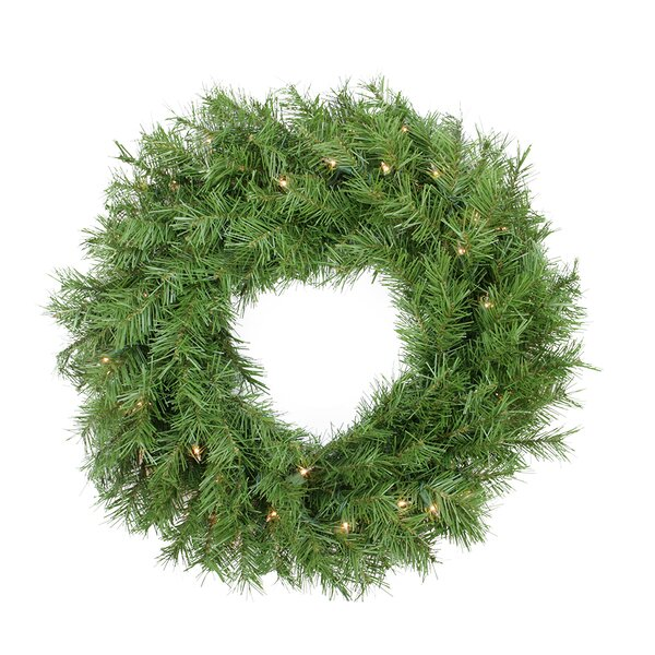 Pre-Lit Northern Frasier Fir Artificial Christmas Wreath by Northlight Seasonal