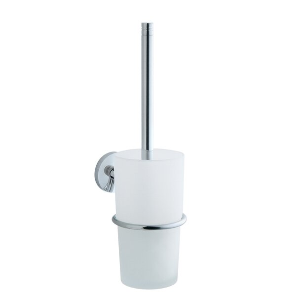 Studio Wall MountedToilet Brush and Holder by SmedboStudio Wall MountedToilet Brush and Holder by Smedbo