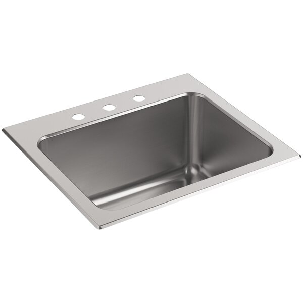 Ballad 25 x 22 Drop-In Service Sink by Kohler