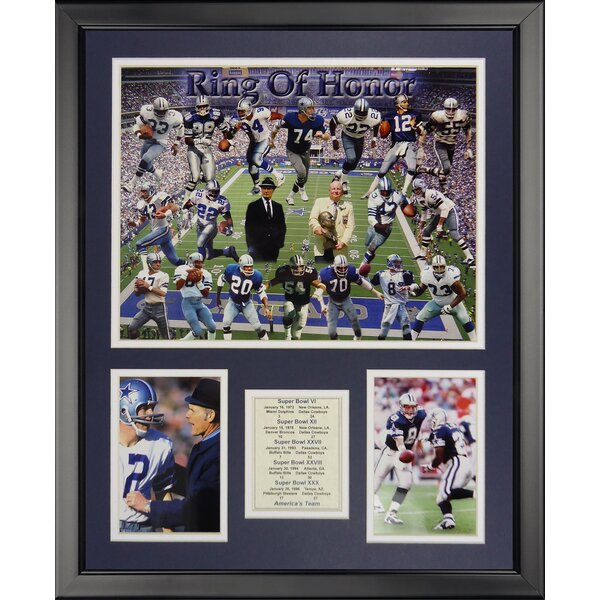 NFL Dallas Cowboys - Cowboy Greats Framed Memorabili by Legends Never Die