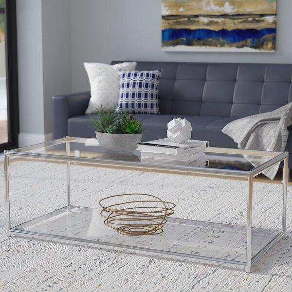 Zola Floor Shelf Coffee Table By Wade Logan