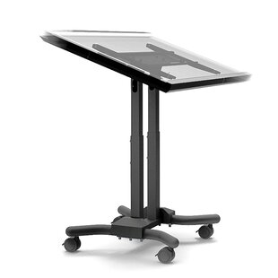 Mobile Adjustable Laptop Cart by Cotytech