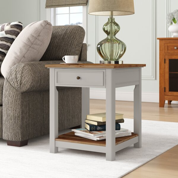 Gilmore End Table By Rosecliff Heights