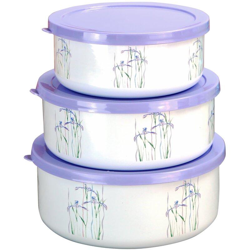 Shadow Iris 3 Container Food Storage Set