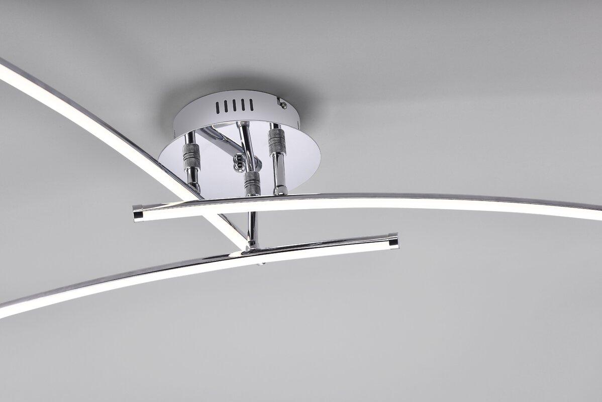 caracella led deckenleuchte 3 flammig hanna bewertungen. Black Bedroom Furniture Sets. Home Design Ideas