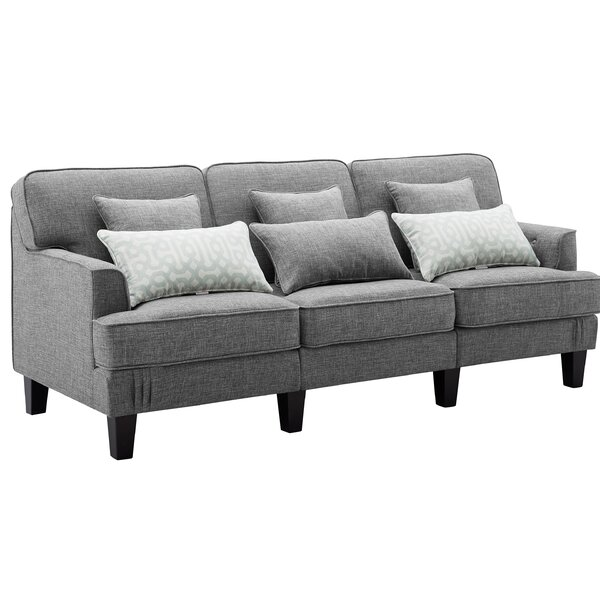 Albertson Patio Sofa with Cushions by Red Barrel Studio Red Barrel Studio