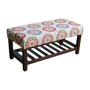Fabric Storage Bench by Ho..