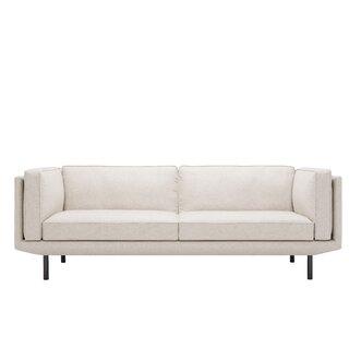 """Plateau 84"""" Feather Filled  Sofa by EQ3 SKU:EC814378 Order"""
