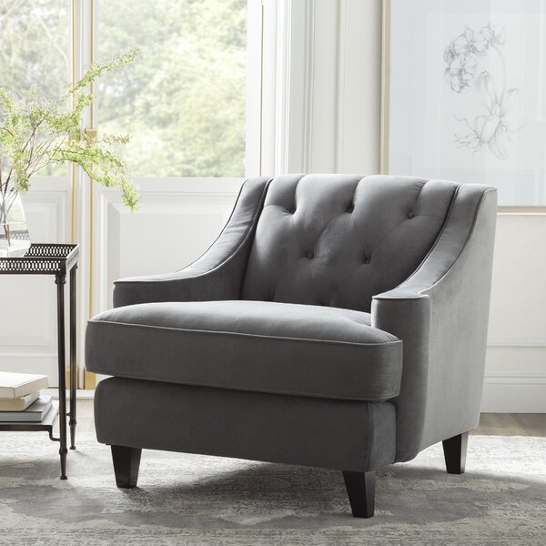 Briley Armchair with Ottoman by Kelly Clarkson Home Kelly Clarkson Home