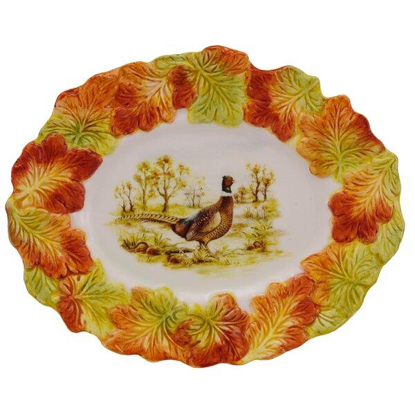 Hunt Harvest Serving Platter by Kaldun & Bogle