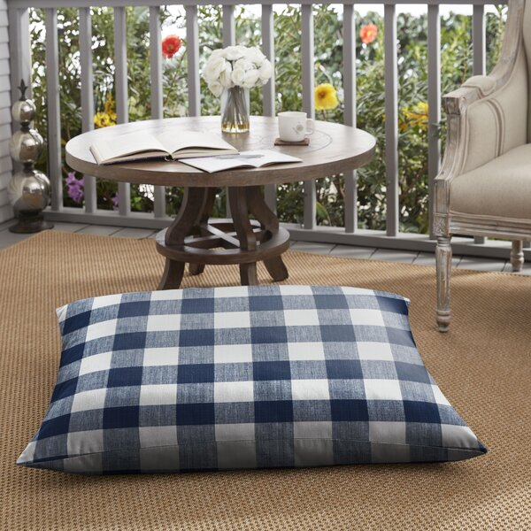 Bolding Buffalo Outdoor Floor Pillow by Mozaic Company