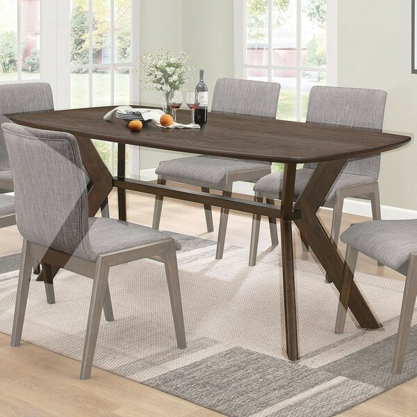 Earnhardt Solid Wood Dining Table by Corrigan Studio