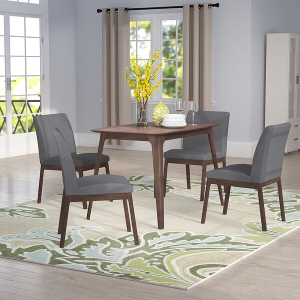 Tunis 5 Piece Solid Wood Dining Set by Langley Street Langley Street™
