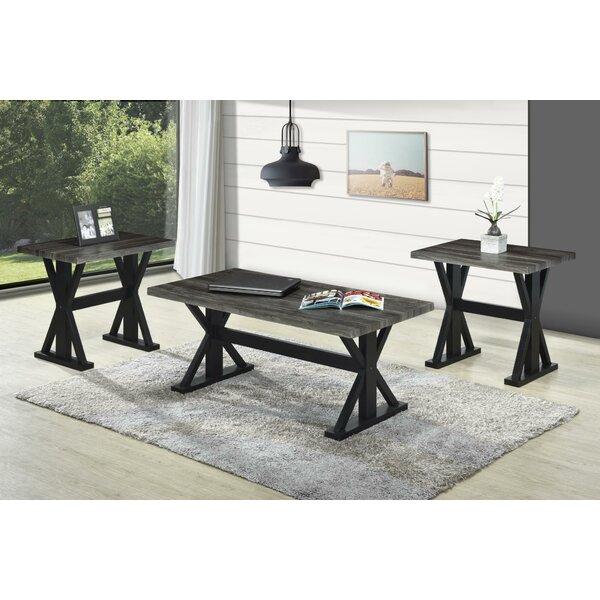 Yarmuth 3 Piece Coffee Table Set by Gracie Oaks Gracie Oaks