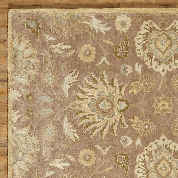 Phoebe Hand Tufted Wool Capuccino Rug by Birch Lane™