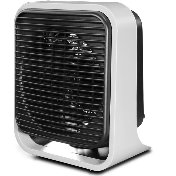 Indoor Heaters 1 500 Watt Portable Electric Fan Compact Heater By Eureka.