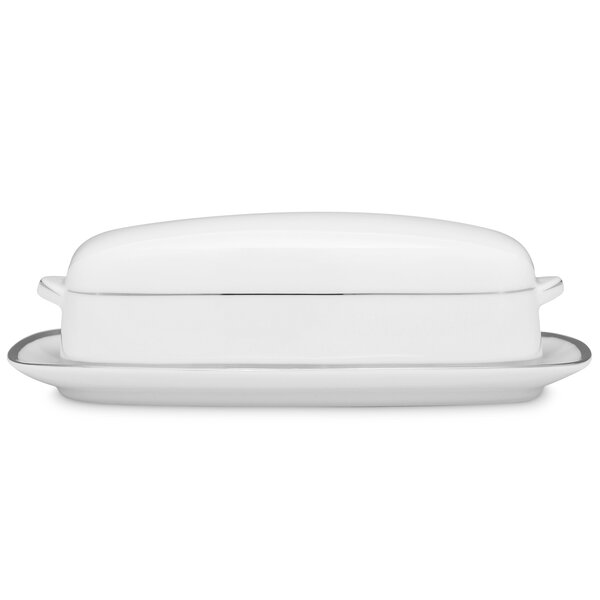 Spectrum Butter Dish by Noritake