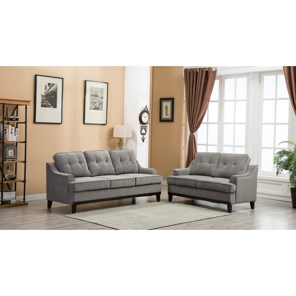Skye 2 Piece Living Room Set by Alcott Hill