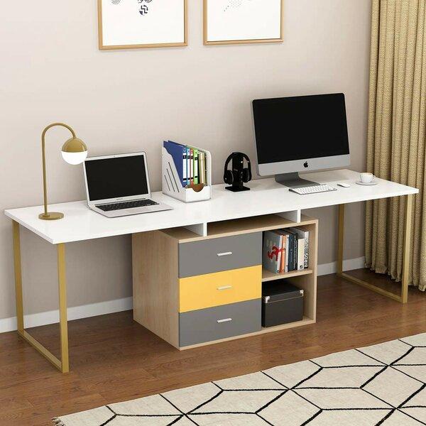 Schuylerville Reversible L-Shape Credenza desk