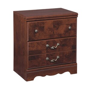 Clevenger 2 Drawer Nightstand by Fleur De Lis Living