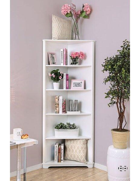 Harvill Corner Unit Bookcase by Red Barrel Studio