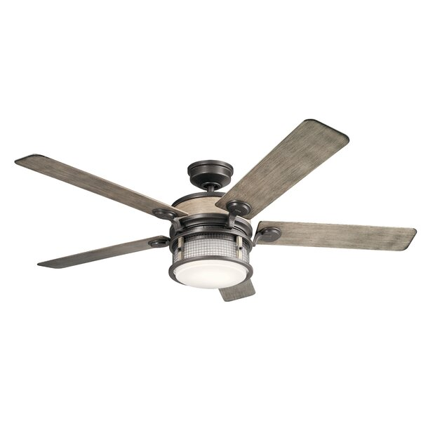 60 Sherita 4 Blade Outdoor LED Ceiling Fan by 17 Stories