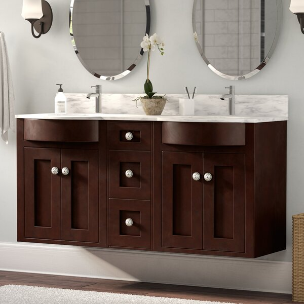 Rosemont Wall Mount 60 Single Bathroom Vanity Set by Winston Porter