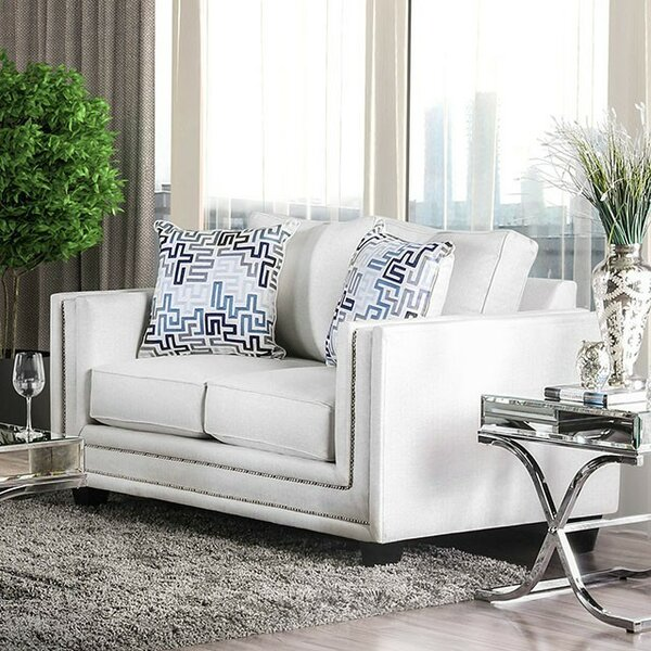 Sewell Loveseat by Everly Quinn
