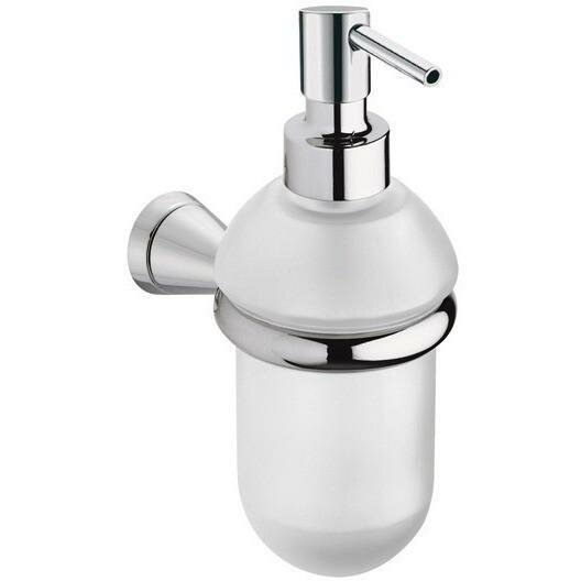 Sklar Wall Mounted Glass Pump Soap & Lotion Dispenser by Orren Ellis