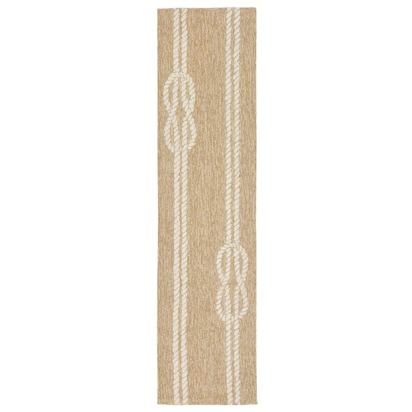 George Hand-Tufted Neutral Indoor/Outdoor Area Rug by Beachcrest Home